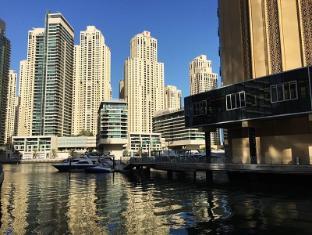 Marina View Deluxe Hotel Apartment Dubai - Public Promenade Walk