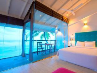 Cantaloupe Aqua Beach Club Hotel Unawatuna - Aqua chic Room