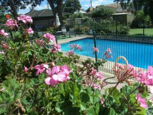 Parkwood Motel & Apartments Geelong - Garden and swimming pool
