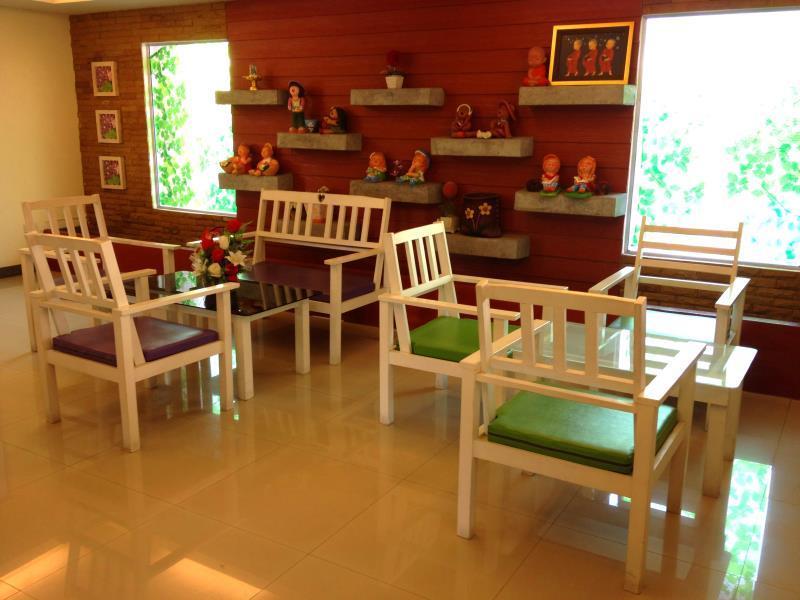 Sala de estar - Casa Narinya Bangkok
