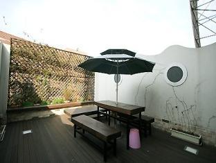 Joy Tourist Hotel Daejeon - Rõdu/Terrass