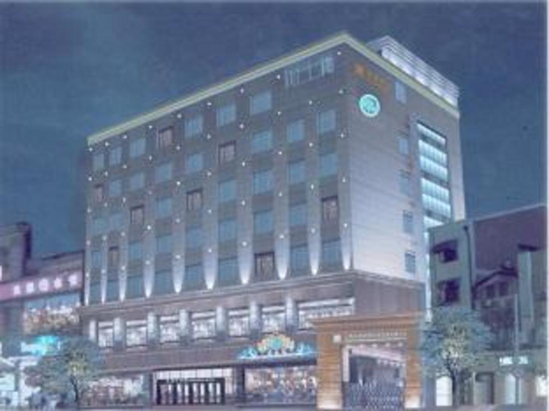 Hotellet från utsidan