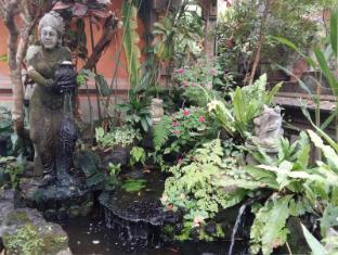 戴萨科普图普特拉普特拉民宿酒店 巴厘岛 - 花园
