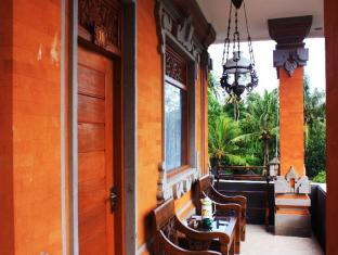 Teba House Ubud Guest House Bali - Balkon/Terras