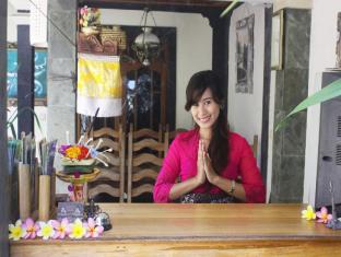 Teba House Ubud Guest House Bali - Recepcija