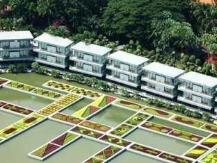 Nongnooch Garden Resort Pattaya - View from Lake Side Terrace