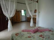 Zimmer mit kleiner Küche