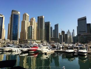 Marina Byblos Hotel Dubai - Public Promenade Walk