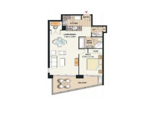 Meriton Serviced Apartments Broadbeach Gold Coast - 1 Bedroom Ocean View Apartment