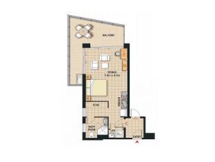 Meriton Serviced Apartments Broadbeach Gold Coast - Studio Apartment