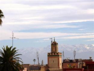 Dar Taliwint Hotel Marrakech - View on the Atlas mountains
