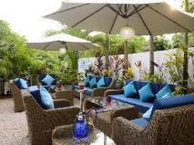 Living Room Hotel: garden
