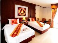 ห้องซูพีเรีย เตียงใหญ่หรือเตียงแฝด