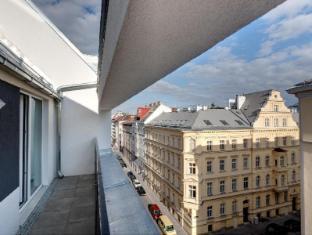 MEININGER Hotel Wien Downtown Franz Dunaj - balkon/terasa