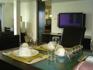 The Front Apartments Phuket - 2 Bedroom Deluxe-Dining area