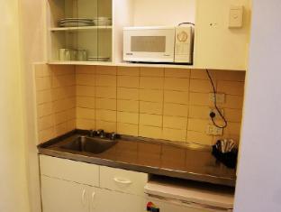 George Powlett Apartments Melbourne - Studio Apartment Kitchen