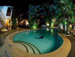 Alona Vida Beach Resort Bohol - Pool at Night