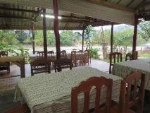 Vang Vieng Eco Lodge: restaurant