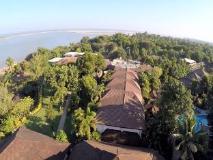 Aye Yar River View Resort: view