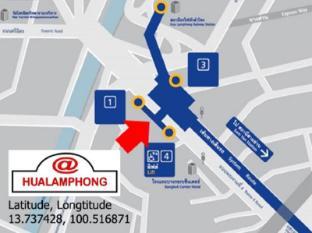 @후아 람퐁 호스텔 방콕 - 지도