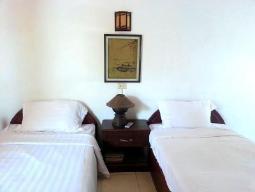 Standaard kamer 2 aparte bedden - geen bad