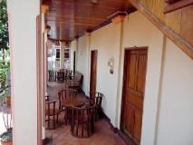 Namsok Guetshouse: balcony/terrace