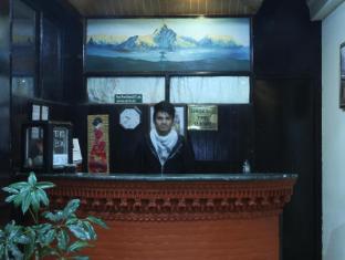 Peak Point Hotel Kathmandu - front desk