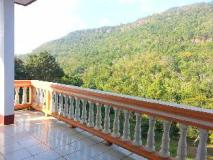 Souksan Hotel: balcony/terrace