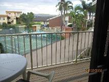 Anchorbell Holiday Apartments: balcony/terrace