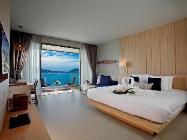 Deluxe-huone merinäköalalla