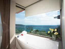 suurejooneline luksuslik merevaade
