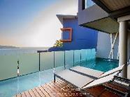 Duplex Villa uima-altaalla