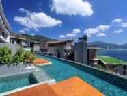 Apartament podwójny z widokiem na basen