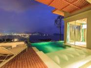 Vila se dvěma ložnicemi s bazénem