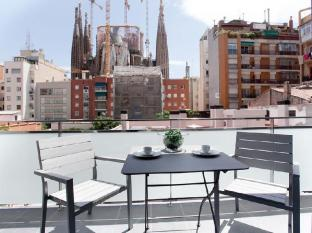 Sensation Sagrada Familia Apartments Barcelona - Balcony/Terrace