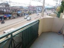 Dokkhoun Hotel: balcony/terrace
