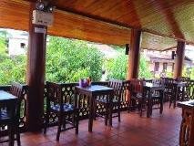 Luang Prabang Boutique House: balcony/terrace