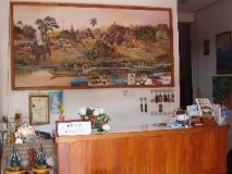 Rattana Guesthouse: reception