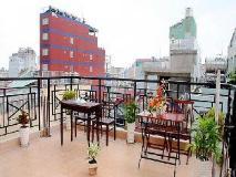 Vietnam Hotel Accommodation Cheap | balcony/terrace