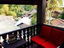 Phasith Guesthouse: balcony/terrace