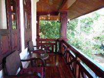 Vongprachan Guest House: balcony/terrace