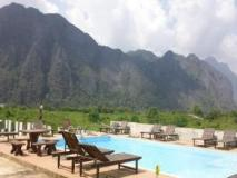 Indavong Guest House: swimming pool
