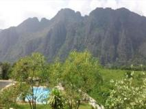 Indavong Guest House: view