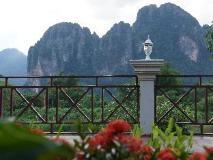 Silver Naga Hotel: view