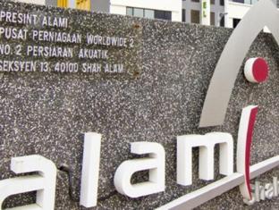 Alami Garden Hotel Shah Alam - Vchod