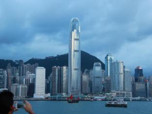 Australian Guest House Hong Kong - Hong Kong Island Skyline