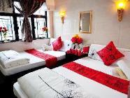Pokój rodzinny z 2 podwójnymi łóżkami