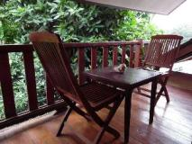 Nana Guest House: balcony/terrace