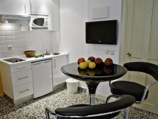 Apartamentos Las Letras by TerravisionTravel Madrid - Kuchyně