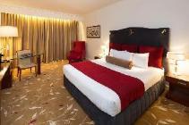 Deluxe stadsutsikt med king size-säng